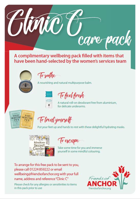 Clinic C packs
