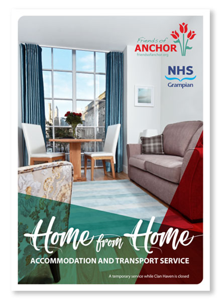 FoA Home from Home leaflet